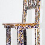 """""""Cadeira Marroquina"""" - 84x34x32 cm"""