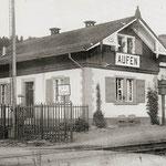 La gare de Aufen n' existe plus.
