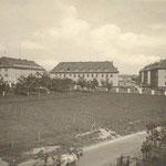 Le quartier Foch, autrefois Babara Kaserne, sans les cités cadres.