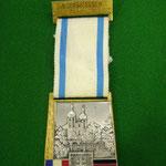 1972 Une des nombreuses médailles des Volksmarsch.