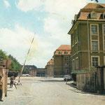 Entrée du quartier Lyautey, autrefois Hindenburg Kaserne,  par la Villingerstrasse.