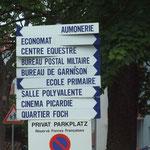 """Il ne reste plus que """"Privat Parkplatz"""" !"""