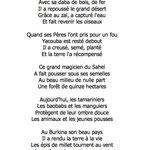 """""""Yacouba Sawadogo, paysan du Sahel"""" poème Helen Juren © tous droits réservés"""
