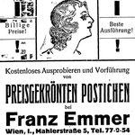Werbung 1927