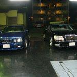 E34 BMW & 17クラウンマジェスタ