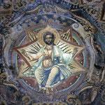 Christus Pantokrator in einem Athos-Kloster