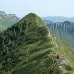 Traumhafte Gratwanderung zwischen Schreckenspitze und Sonntagsspitze