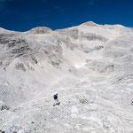 Wüstenlandschaft im Großen Ödkar, Karwendel