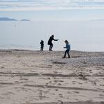Winter am Strand von Schinias bei Marathon