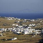Dorf auf der Insel Paros