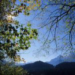 Herbstliche Stimmung bei Maria Gern