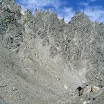 Wie einer Wüste: Aufstieg zum Loferer Seilergraben