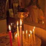 Osternacht in der Kirche Panagia Eleftherotria in Kifisia bei Athen