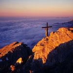 Abendstimmung am Watzmann-Hocheck (2651 m)