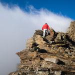 Am Nordostgrat des Hinteren Spiegelkogels (3426 m), Ötztaler Alpen
