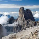 Sass Maor und Cima della Madonna, Palagruppe, Dolomiten