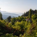 Im Bergdorf Psilo Chorio in den Vardoussia-Bergen
