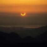 Sonnenfinsternis über dem Chiemsee
