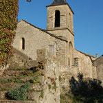 L'église de Cantobre