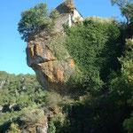 La dernière ruine de Cantobre, maintenant en rénovation