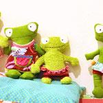Froschkonzert Musikdose