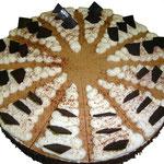 Schokoladen-Birnen-Torte