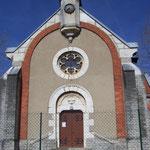 La chapelle en 2011 (on voit les réparations suite à l'explosion de la rosace...)