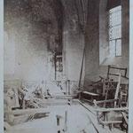 intérieur vu de gauche après l'incendie en 1882 (archives départementales du Puy de Dôme)