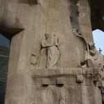 Храм Святого Семейства в Барселоне. Группа Петра