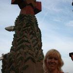 Храм Святого Семейства в Барселоне.  Элемент фасада Рождества