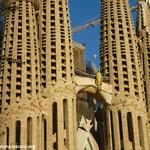 Саграда Фамилия, Барселона. Фасад Страстей