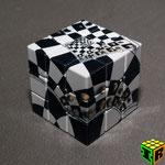 3x3x3 V-Cube Chessboard Illusion
