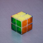2x2x2 LanLan Crystal Spring Magic Cube