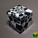3x3x3 V-Cube Chessboard Illusion