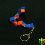 Llavero Snake Rubik's