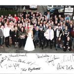 """Tatortdreh """"Hochzeitsnacht"""" Oktober 2011 Das komplette Team"""