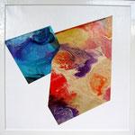 'Sh_002' - 50x50 cm  - tecnica mista su tela