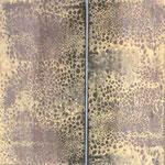 structures jaunes 1  40 x 40 cm acryl sur toile