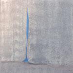 fissure 100 x 100 cm acryl sur toile