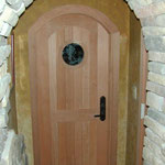 Redwood Door