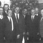 Der Vorstand im Jahre 1968, v.l.n.r: Maringer Anton, Aust Otto, Bauer Alfred, Macheiner Willi, Obmann Hubalek Josef, Kinner Friedrich, Mandlicher Franz, Perger Alois, Horwath Leopold und Pesendorfer Alois