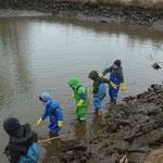Bei uns helfen auch die Kleinsten mit jeden Fisch zu fangen
