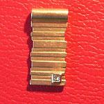 Anhänger ALi014, 750 Gelbgold mit Princess-Diamant