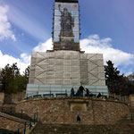 Die 'Wacht am Rhein' wird restauriert...