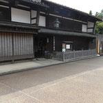 北前船廻船問屋「森家」 富山市教育委員会から委託された方が管理、森家は東京にお住まいとのこと。