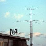 hex beamアンテナ(20-15-10m ?) 6m八木 ローバンド八木 (京急三崎口駅近くで)