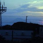 京急三崎口駅からの富士山 このあと 6時27分発青砥行きに乗車