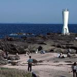 安房岬灯台(房総半島が良く見えるから名づけられたらしい)
