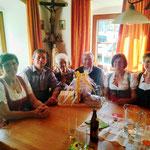 50 Jahre Gästeerung mit Fam .Schneider
