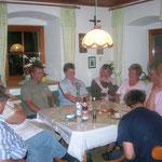 Gäste in der Küche